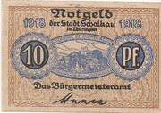 10 Pfennig (Schalkau) – obverse