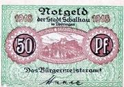 50 Pfennig (Schalkau) – obverse