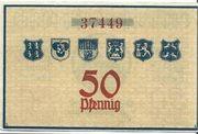 50 Pfennig (Hildburghausen, Eisfeld, Themar, Römhild, Heldburg, Ummerstadt) – reverse