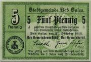 5 Pfennig (Bad Sulza) – obverse