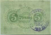5 Pfennig (Bad Sulza) – reverse