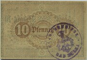 10 Pfennig (Bad Sulza) – reverse