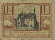 10 Pfennig (Neustadt an der Orla) – reverse
