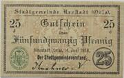 25 Pfennig (Neustadt an der Orla) – obverse