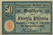 50 Pfennig (Neustadt an der Orla) – obverse
