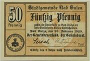 50 Pfennig (Bad Sulza) – obverse