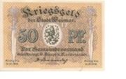 50 Pfennig (Weimar) – obverse