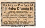 10 Pfennig (Ostheim vor der Rhön; Vorschuß- und Sparverein) – obverse