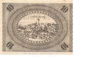 10 Pfennig (Ostheim vor der Rhön; Vorschuß- und Sparverein) – reverse