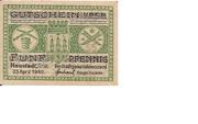 5 Pfennig (Neustadt an der Orla) – obverse