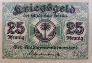 25 Pfennig (Bad Berka) – obverse
