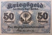 50 Pfennig (Bad Berka) – obverse