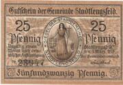 25 Pfennig (Stadtlengsfeld) – obverse