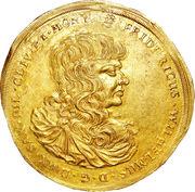 10 Ducat - Duke Friedrich Wilhelm III (Death of Friedrich Wilhelm III) – obverse