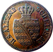 1 Pfennig - Ernst – obverse