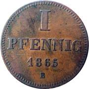 1 Pfennig - Ernst – reverse