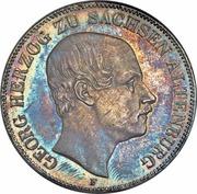 2 Thaler / 3½ Gulden - Georg – obverse