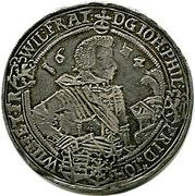 1 Thaler - Johann Philipp I, Friedrich VIII, Johann Wilhelm IV, & Friedrich Wilhelm II -  obverse