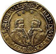 ½ Thaler - Johann Philipp I, Friedrich VIII, Johann Wilhelm IV and Friedrich Wilhelm II – reverse