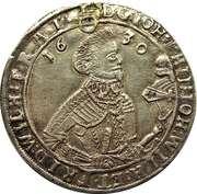 ½ Thaler - Johann Philipp I, Johann Wilhelm IV and Friedrich Wilhelm II – obverse