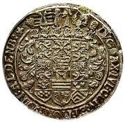 ½ Thaler - Johann Philipp I, Johann Wilhelm IV and Friedrich Wilhelm II – reverse