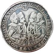 1 Thaler -  Johann Philipp, Friedrich, Johann Wilhelm and Friedrich Wilhelm II. – obverse