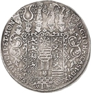2 Thaler - Johann Casimir – reverse