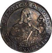 1 Thaler - Johann Ernst II (Spruchtaler) – obverse