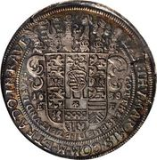 1 Thaler - Johann Ernst II (Spruchtaler) – reverse