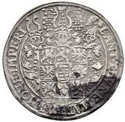 1 Thaler - Johann Casimir & Johann Ernst II – reverse