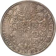1 Thaler - Johann Casimir and Johann Ernst – reverse