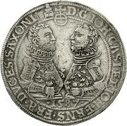 2 Reichsthaler - Johann Casimir and Johann Ernst – obverse