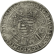 2 Reichsthaler - Johann Casimir and Johann Ernst – reverse