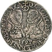 ¼ Thaler - Johann Casimir and Johann Ernst – obverse