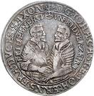 ½ Thaler - Johann Casimir and Johann Ernst – obverse