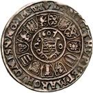 ¼ Thaler - Johann Casimir and Johann Ernst – reverse