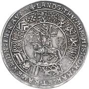 ½ Thaler - Johann Casimir and Johann Ernst – reverse