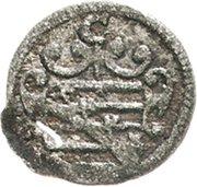 1 Pfennig - Johann Casimir and Johann Ernst – obverse