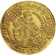 5 Ducat - Johann Casimir and Johann Ernst II – obverse