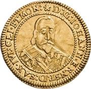1 Ducat - Johann Ernst (Spruchdukat) – obverse