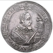 1 Reichsthaler - Johann Casimir (Sterbetaler) – obverse