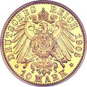 10 Mark - Karl Eduard – reverse