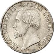1 Thaler - Ernst II – obverse