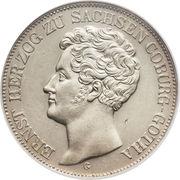 2 Thaler / 3½ Gulden - Ernst I – obverse