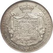 2 Thaler / 3½ Gulden - Ernst I – reverse