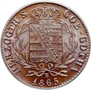 1 Pfennig - Ernst II – obverse