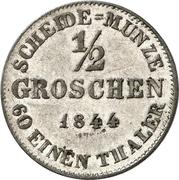 ½ Groschen - Ernst I – reverse