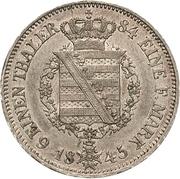 ⅙ Thaler - Ernst II – reverse