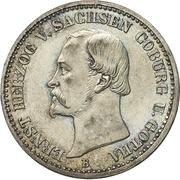 ⅙ Thaler - Ernst II – obverse