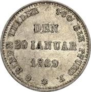 ⅙ Thaler - Ernst II (Silver Jubilee) – reverse